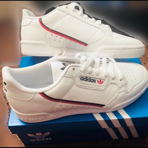 a0f19fd1df Adidas Continental 80 6 1/2 (Women's 8.5) White NWT